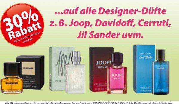 30% Rabatt auf alle Designer Parfums bei Famila Nord in KW 14
