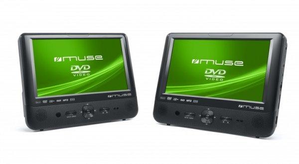 Muse M-992CVB inkl. 16 GB SDHC Card, Class 10 - Dual-DVD-Player mit 2 Monitoren