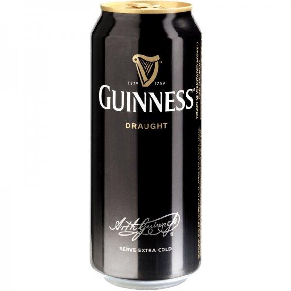 Guinness Draught 4,2% 24 x 0,44 ltr. @  allspirits.de