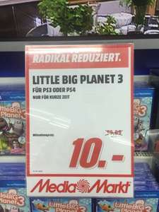 UPDATE: Litte Big Planet 3 PS3/PS4 @MM Herzogenrath für 10€