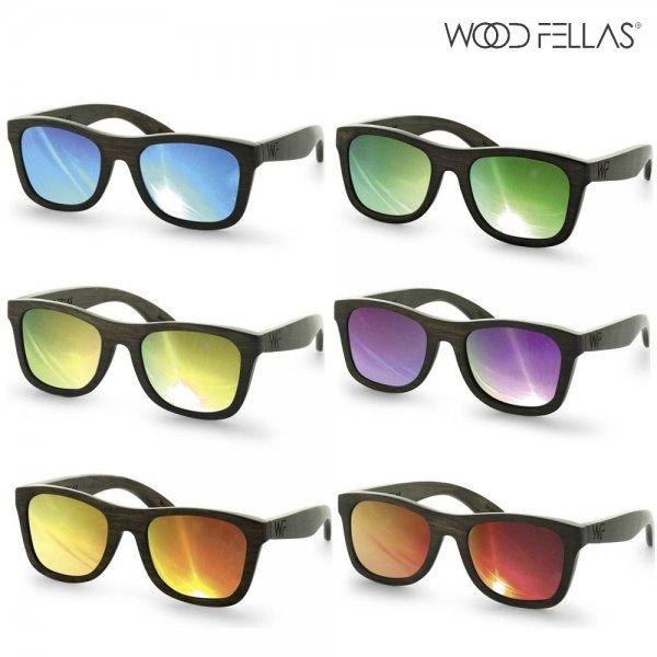 Wood Fells Jalo Mirror [verschiedene Farben] [Retro-Sonnenbrille]