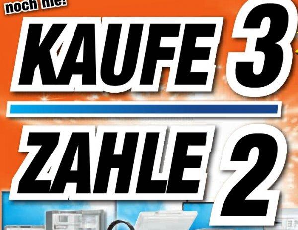 [Lokal Expert Schlagenhauf Feuchtwangen, Gunzenhausen, Weißenburg] Kaufe 3, Zahle 2 für ausgewählte Produkte, warengruppenübergreifend, nur 31.03.