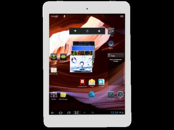 Wieder da: CMX Clanga 079-1016 - 7,9 Tablet mit Aluminiumgehäuse, Quadcore, 1 GB Ram, Bluetooth, Mini HDMI, 16GB (erweiterbar) @ (Ebay) Media Markt