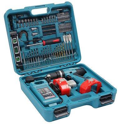 [eBay] Makita 8391 DWPETK - 18 Volt Schlag- Bohr- Akkuschrauber inkl. 101tlg. Set