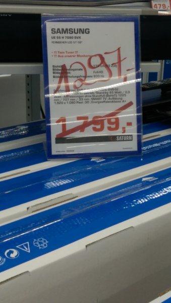 Samsung UE55H7090 für 1297€ statt 1799€ bei Saturn CentrO Oberhausen