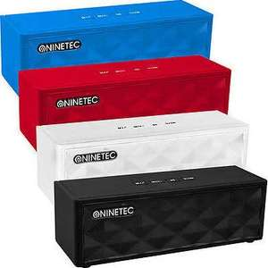 NINETEC POWERBLASTER PLUS - 2in1 - Bluetooth-NFC-Speaker & PowerBank @ebay wow