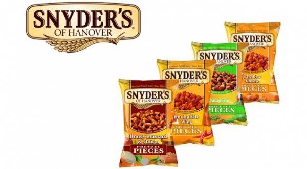 [Scondoo] 50% Cashback auf Snyders Pretzel Pieces, verschiedene Sorten