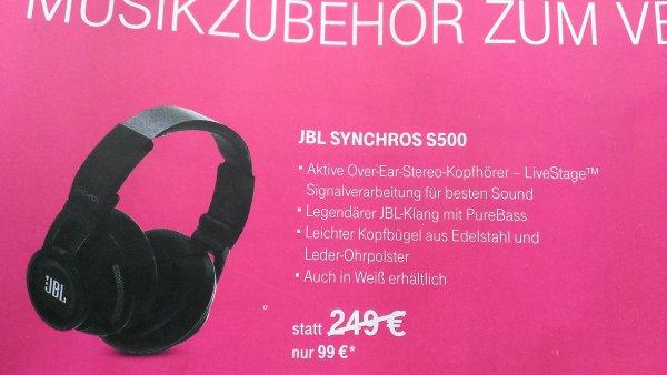 Telekom Shop Bundesweit - JBL S500 Over Ear Kopfhörer- 99€