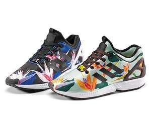 "[TheGoodWillOut] ADIDAS ZX Flux NPS ""Neoprene Graphic"" Pack: Hawaiian Flower"