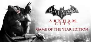 (Appstore) Batman: Arkham City Game of the Year Edition für MAC
