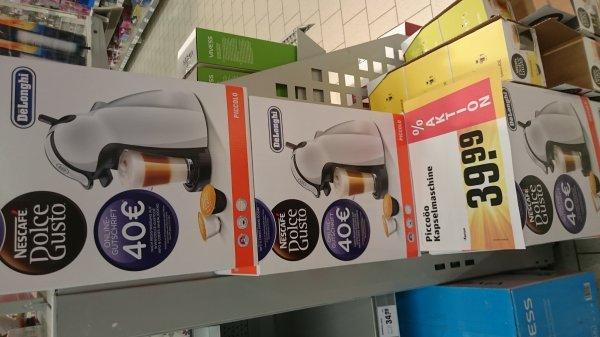 [REWE] Nescafe Dolce Gusto Maschine + 40EUR Online Gutschrift