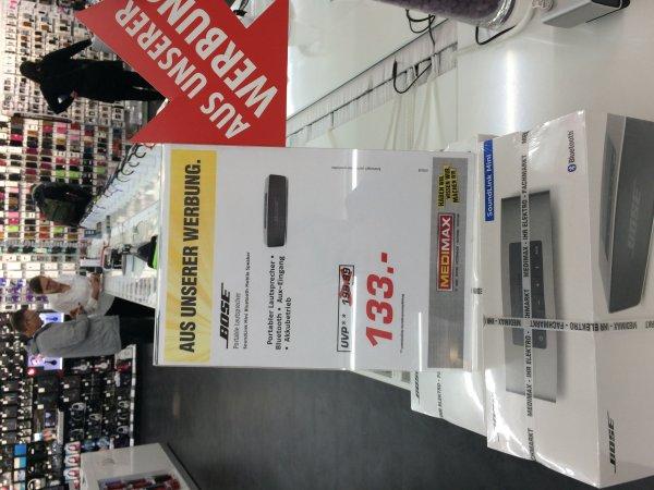 [Lokal MEDIMAX Regensburg] Bose SoundLink Mini 133,00 €