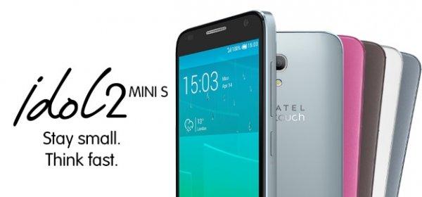 [Amazon] Alcatel One Touch Idol 2 Mini S LTE (4,5'' IPS qHD, 1,2 GHz Quadcore, 1 GB RAM, 8 GB intern, microSD) für 97€ = 25% Ersparnis