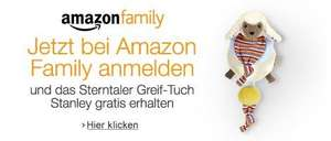 [Amazon Family/Prime] Sterntaler Greif-Tuch Stanley im Wert von 9,99 EUR gratis für Amazon Family Neukunden