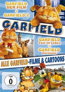 [Amazon Prime] Garfield - Alle Garfield-Filme und Cartoons [8 DVDs] für 9,97 EUR