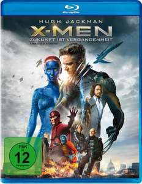X-Men Zukunft ist Vergangenheit [Blu-ray] für 8,99€ bei Amazon.de (Prime)