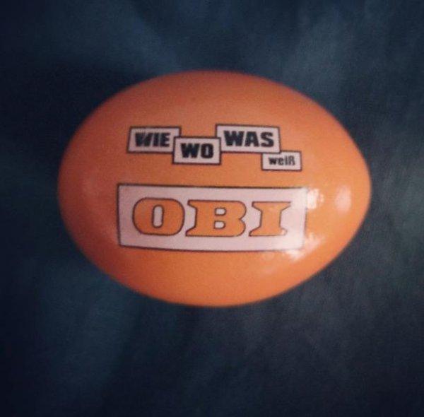 Hopphop! Auf zu Obi: Gratis Oster-Frühstücks-Ei!