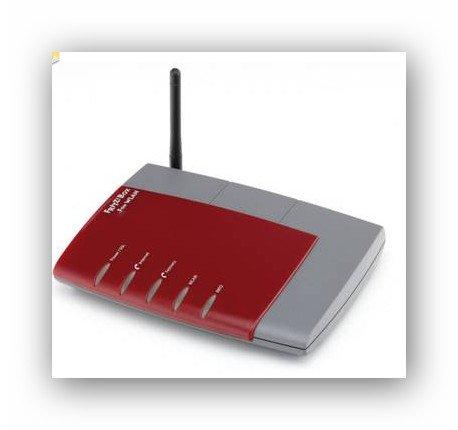 Mein Paket B-Ware:WLAN DSL-Router mit Telefonanlage AVM FRITZ!Box Fon WLAN 7170 für 39,95€