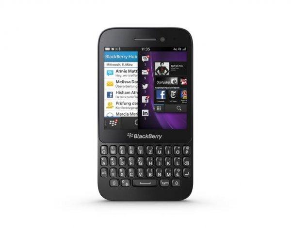[Update]Wieder Verfügbar BlackBerry Q5, Smartphone, Schwarz,  LTE Neu Jetzt für 115,10€