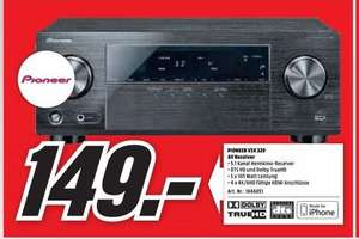 AV Receiver Pioneer VSX-329