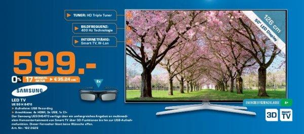 Samsung UE 50 H 6470 Saturn Sankt Augustin feiert Geburtstag bis 4.04.