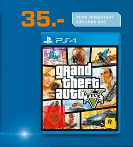 (lokal MG Minto) GTA 5 PS4/XBOX One für 35€ @Saturn
