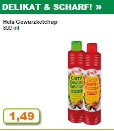 Hela Gewürz Ketchup 800ml diese Woche bei [Trinke und Spare, NRW]