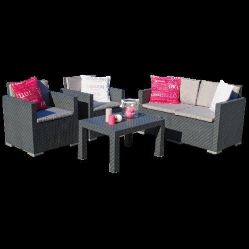 (offline, Action) Wickerlook Lounge Set