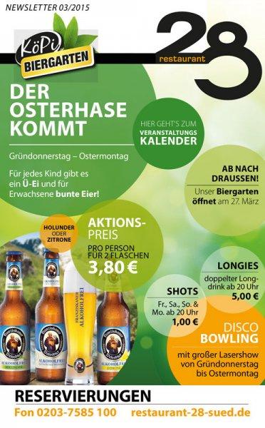 [Lokal Duisburg] Gratis Ü-Ei für Kinder, buntes Ei für Erwachsene