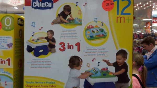 Chicco Activity Spieltisch Center Music 'n Play für 22,50€ bei Müller (lokal, Aschaffenburg City Galerie)