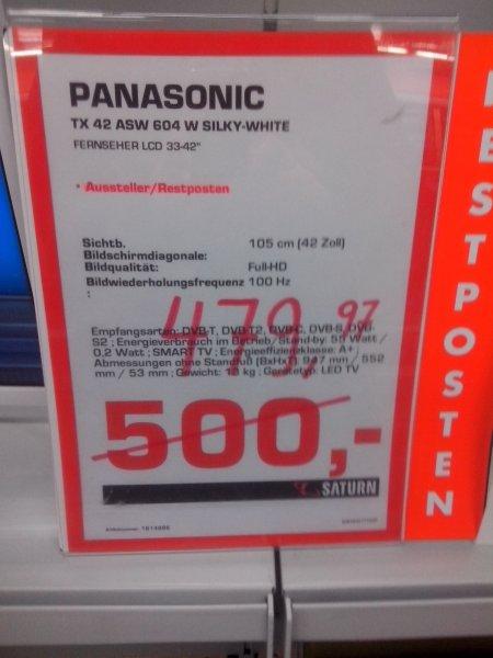 [lokal Erlangen]  Panasonic TX42ASW604W