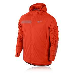 Nike Shield Max Herren Laufjacke in orange 142,79 € @ www.sportsshoes.com