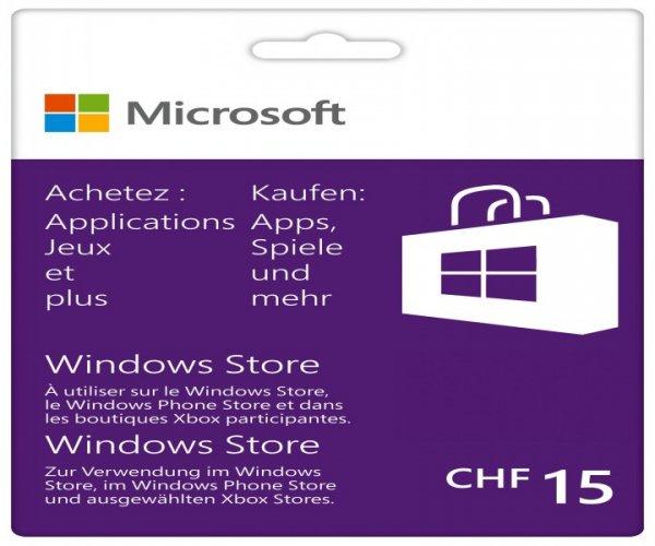 66% Rabatt auf Microsoft Giftcards Bundle für XboxOne/Windows/Phone Store CHF Schweiz