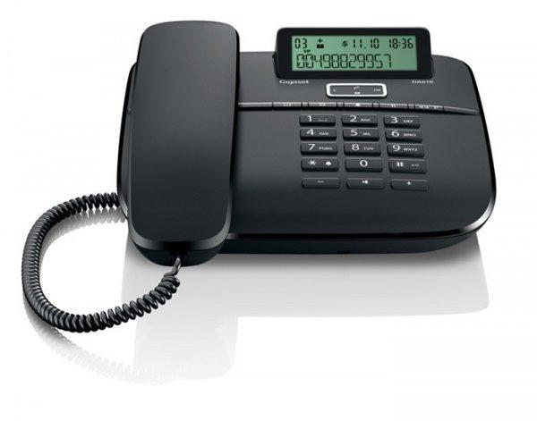 Gigaset DA610 schwarz (schnurgebundenes Telefon) - für 14.99 Euro versandkostenfrei- Vergleichspreis ab ca. 25 Euro - 4 Stück verfügbar