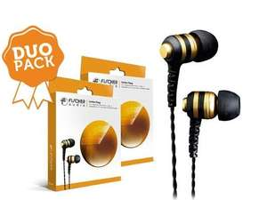 2x Fischer Audio Goldene Wasp In-Ear (Duo Pack)