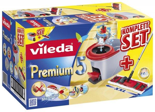 [Blitzangebot] Vileda 146585 Premium 5 Komplett Set Box inkl. Multi-Active System mit 3-tlg. Teleskopstiel und Rotationseimer für 47,99€ @Amazon