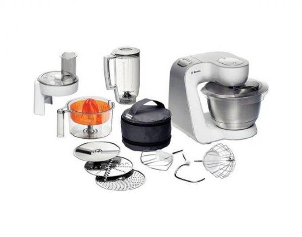 Bosch Styline MUM54230, Küchenmaschine, 900 W, Weiß/Silber, Multi-motion-drive
