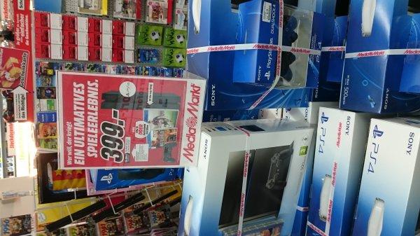 Media Markt Playstation 4 + 2 Spiele 399 Euro