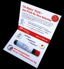 CH-Alpha® PLUS Trinkampulle Produktmuster