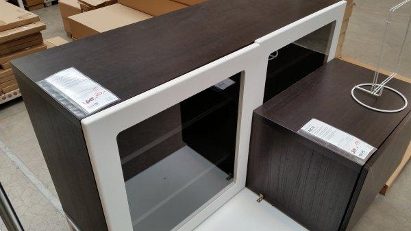 BESTA Marviken Regal mit Türen, IKEA Berlin Tempelhof, 20€ statt 160€