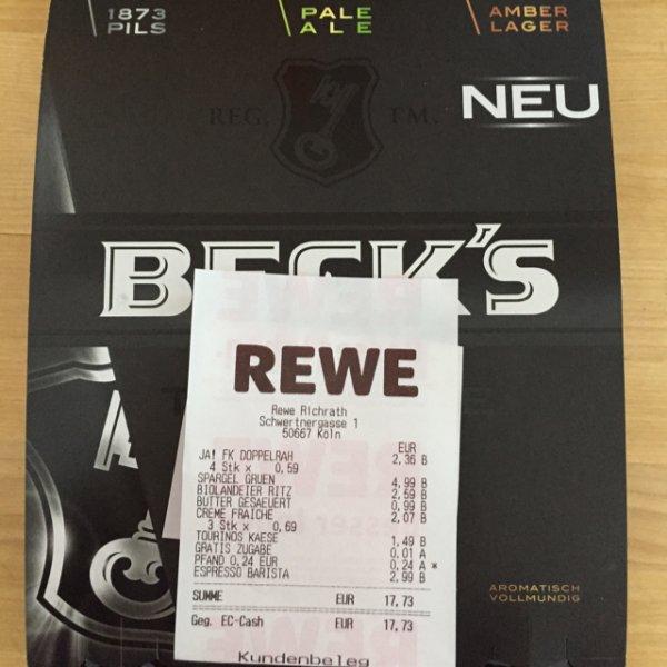 Beck's gratis Bier