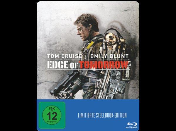 [Saturn] Edge of Tomorrow (Steelbook Edition) - Blu-ray, in Saturn-Filialen verfügbar