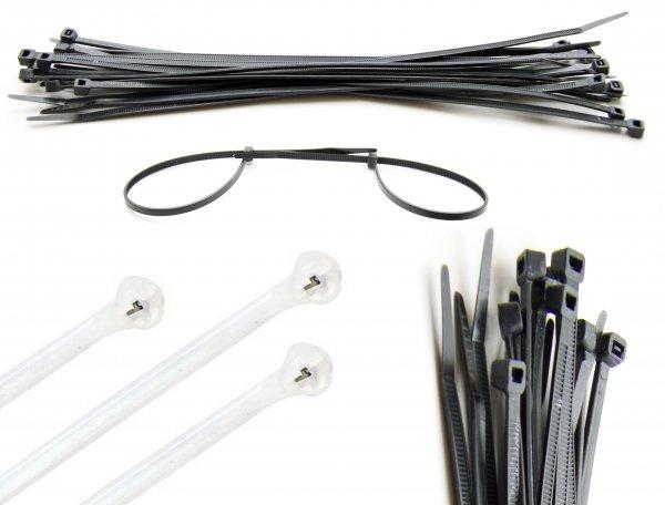 Kabelbinder 100 Stück für 1 Euro inkl. Porto