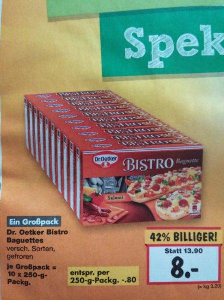 [LOKAL - Berlin] Dr. Oetker Bistro Baguettes 10er Pack - 0,80€ pro Packung