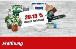 Lokal Duderstadt Toom 20,15% auf alles Neueröffnung nach Umbau