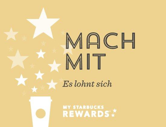 10 Bonus Sterne für My Starbucks Rewards