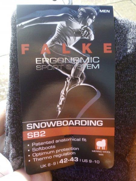 (lokal Kassel ggf. bundesweit) Sport Scheck - Falke SB2 Snowboard Strümpfe Männer für 17,95€