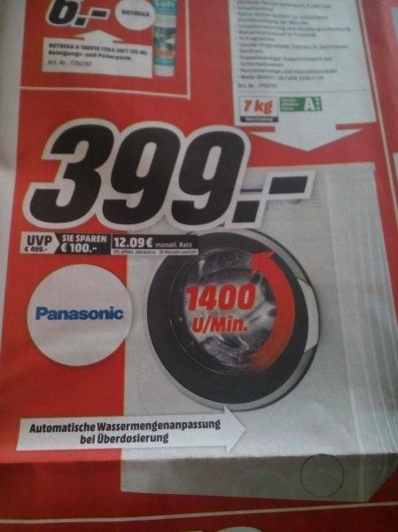 [Media Markt - lokal] PANASONIC NA 147 VB 5 WDE Waschmaschine
