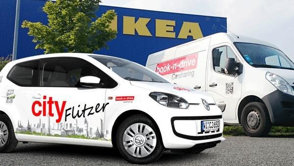 [book-n-drive] 20 € Gutschein Fahrt zu IKEA Frankfurt, Hanau oder Wallau (Wiesbaden)