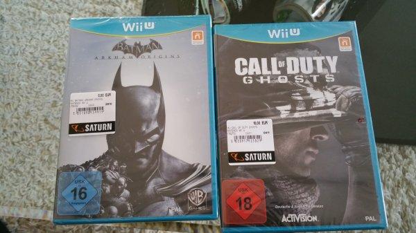 lokal Saturn Leonberg Batman Arkham Origins/ Call of Duty Ghosts